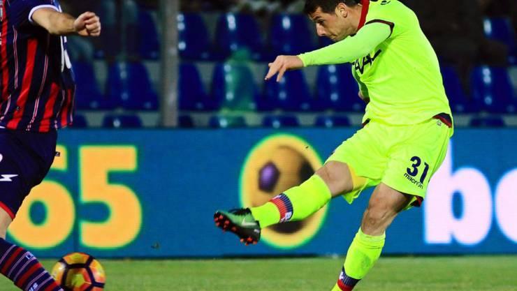 Blerim Dzemaili zieht ab und schiesst Bologna zum Sieg in Crotone