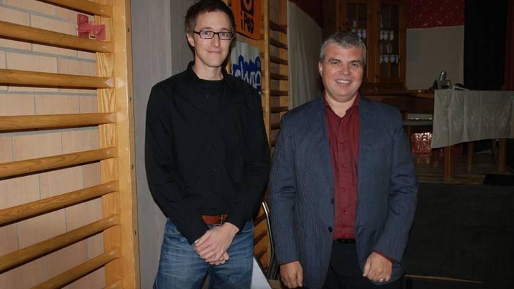 Roger Michelon (rechts) und David Stettler werden die Region ab nächstem Jahr betreuen. ksc