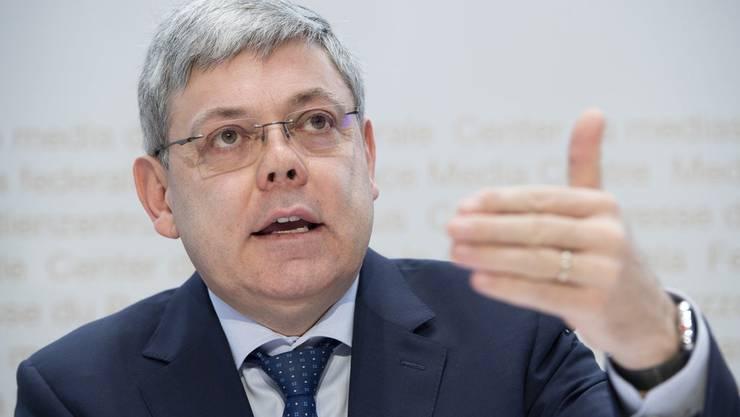 Für Ueli Maurer der richtige Mann für den Ständerat: SVP-Nationalrat Franz Grüter.