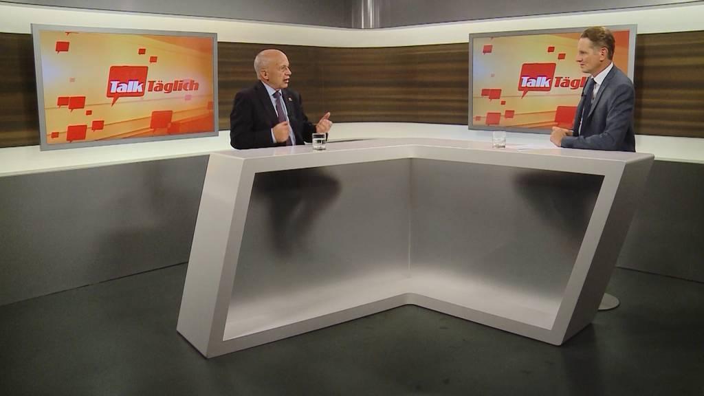 Ueli Maurer zum Bundesratsentscheid und 99-Prozent-Initiative