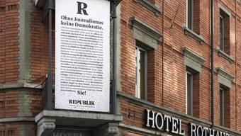 Das Versprechen der Macher: «Die Republik wird ein Magazin für die öffentliche Debatte – für Politik, Wirtschaft, Gesellschaft.»