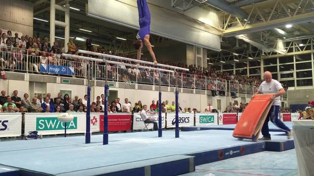Christian Baumann an der Schweizermeisterschaft