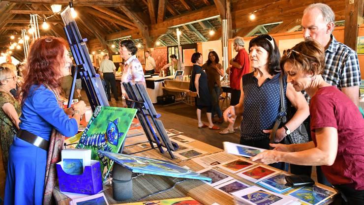 Der Oltner Kunstmarkt findet dieses Jahr wegen Corona nicht statt.
