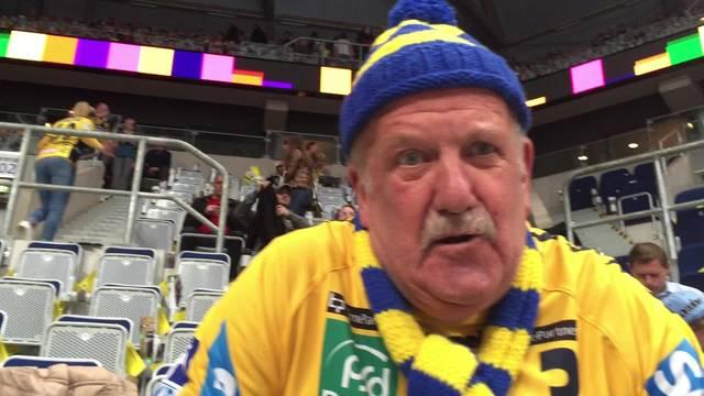 Rhein-Neckar Löwen-Fan spricht über Andy Schmid.