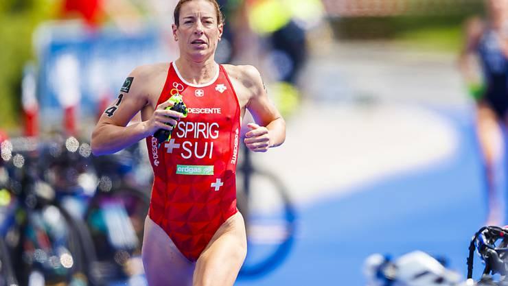 Nicola Spirig beendete das Weltcuprennen im südkoreanischen Tongyeong als Fünfte