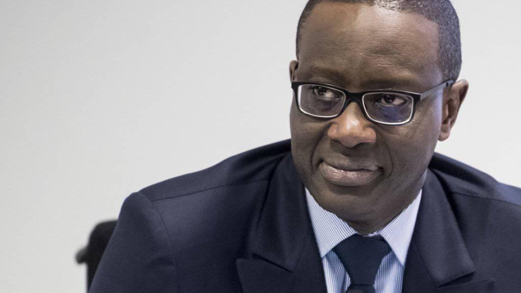 CS-Chef Tidjane Thiam: Hat er im grossen Stile für sich selbst Credit Suisse-Aktien gekauft? (Archivbild)