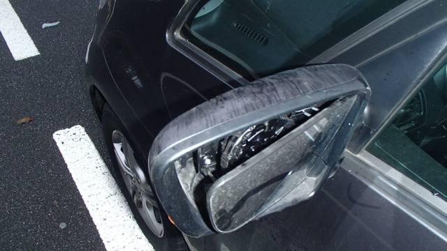 Der Unfall ereignete sich auf der Bibersteinerstrasse bei der Bushaltestelle Aabach.