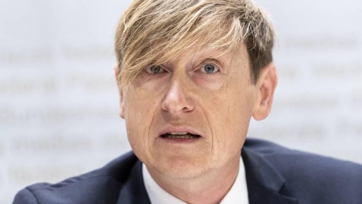 Stefan Meierhans, der Schweizer Preisüberwacher, fordert ab Dezember 2020 Tarifsenkungen im öffentlichen Verkehr. (Archivbild)
