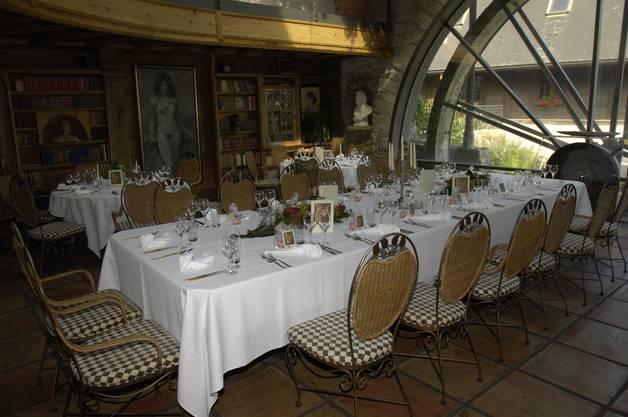 Auch die in Oberwil ruhig gelegene Sagi eignet sich für Hochzeitsfeiern.