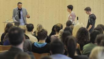 Marco Streller besucht das Gymnasium Oberwil