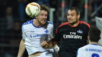 Darmstadt - hier gegen den HSV - konnte auch gegen Köln keinen Sieg verbuchen