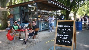 «Solothurn liegt am Meer», die Hafebar machts wieder möglich