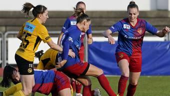 Die Bilder zum Spiel der FCB Frauen gegen YB.