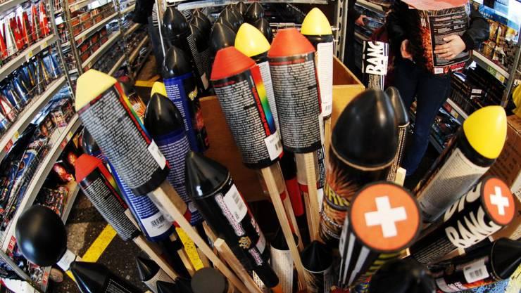 Raketen und andere Feuerwerkskörper. (Symbolbild)