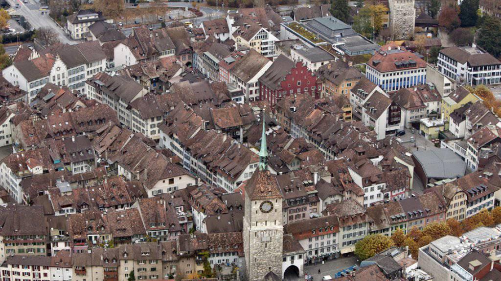 Die Stadt Aarau wird künftig von einer linken Mehrheit regiert. (Archivbild)
