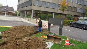 Unter der Verlegung der Kabel musste der Boden zwar leiden, die Bevölkerung kann dafür schneller surfen.