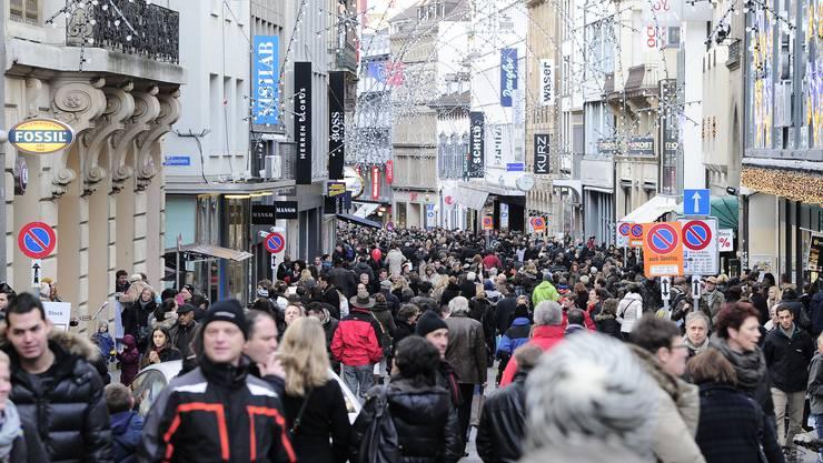 Druggede: Die verkaufsoffenen Sonntage vermitteln jeweils ein Gefühl, als wäre der ganze Kanton beim Einkaufen.