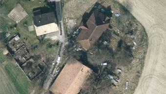 Sogar auf Google Maps ist der Abfall, der überall herumliegt, zu erkennen.