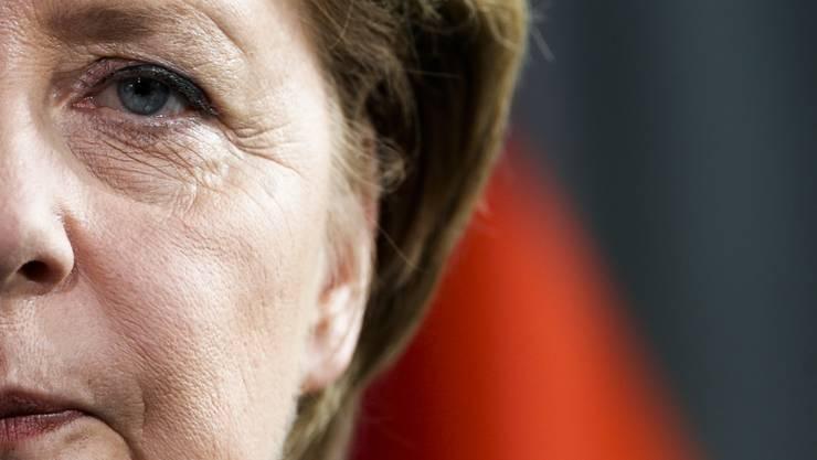 Noch will sich Merkel nicht zu einer Kandidatur äussern. (Archiv)