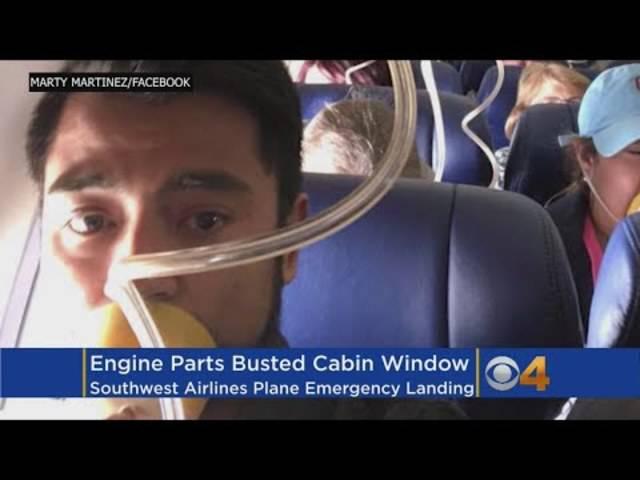Triebwerk explodiert während Flug und beschädigt Fenster – Frau stirbt bei Notlandung