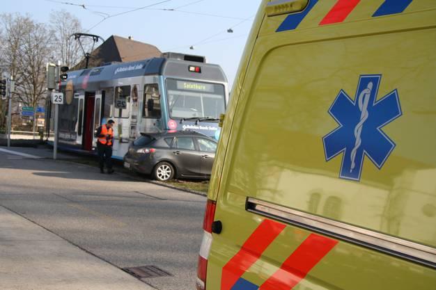 Die Ambulanz vor Ort