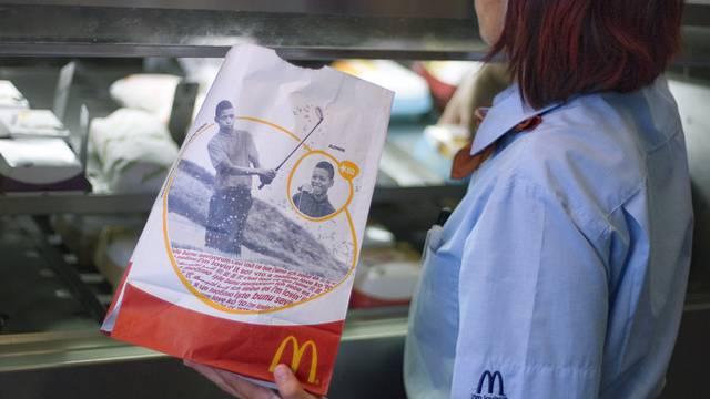 Statt Burger und Fritten sollten die Mitarbeiter zu Sandwich und Salat greifen. (Archiv)