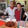 Pius und Ruth Balmer in ihrem Laden in Abtwil: «Es geht ein Lebensabschnitt zu Ende, das ist normal.»  Eddy Schambron