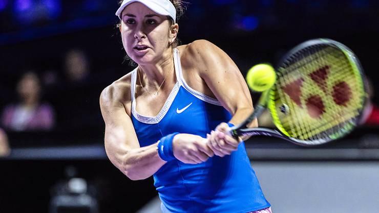 Belinda Bencic wird am Dienstag gegen Petra Kvitova antreten können