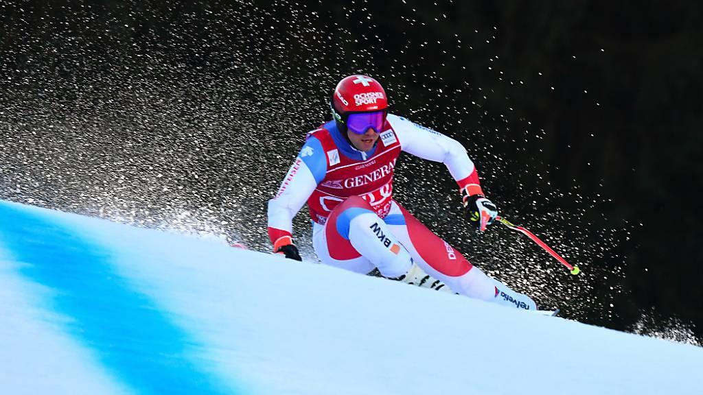 Feuz im einzigen Training in Garmisch bester Schweizer