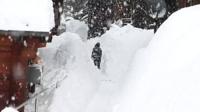 Das Wallis versinkt im Schnee
