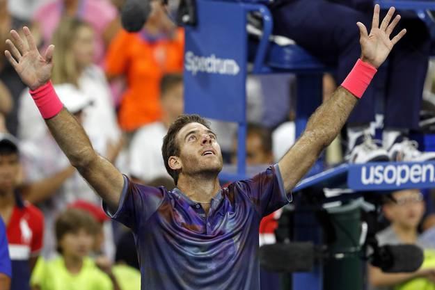 Juan Martin Del Potro, der Sieger von 2009, steht wieder einmal in einem Grand-Slam-Halbfinal.
