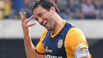 Luca Toni jubelt weiterhin für Hellas Verona