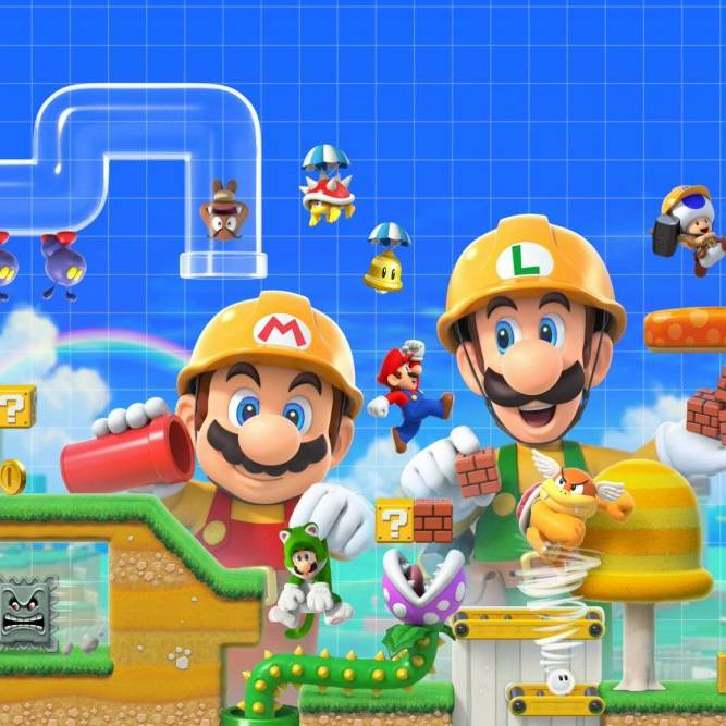 Super Mario zum selber bauen