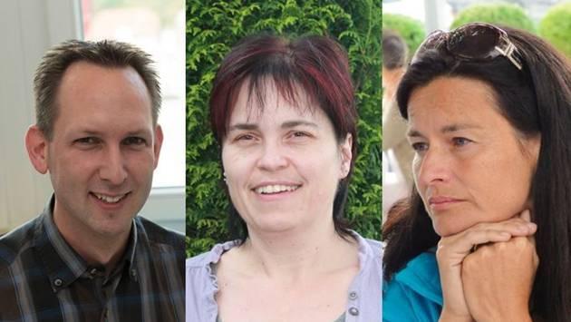 Die drei Kandidaten für die zwei vakanten Sitze in der Schulpflege Schmidrued-Walde: Ralf Meister, Brigitte Müller und Patrizia Nussbaumer (von links).