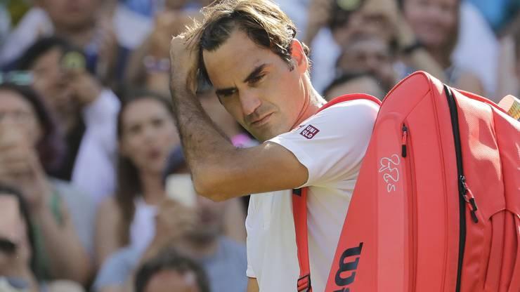 Kein neunter Wimbledon-Titel für Federer – zumindest vorerst nicht ...