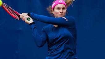 Endstation Viertelfinal: Stefanie Vögele scheidet am WTA-Turnier in Lugano aus