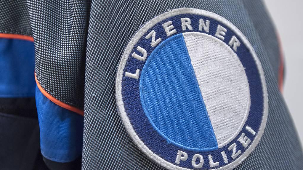 Die Luzerner Polizei hat zwei mutmassliche Einbrecher festgenommen. (Symbolaufnahme)