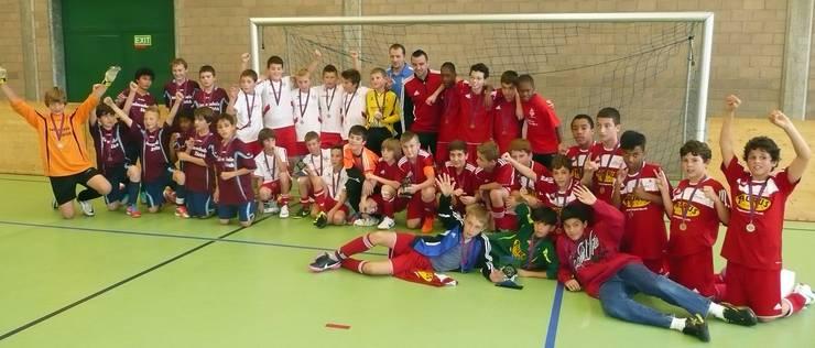 Fussballturnier Birmensdorf Sieger Kategorie Db 17