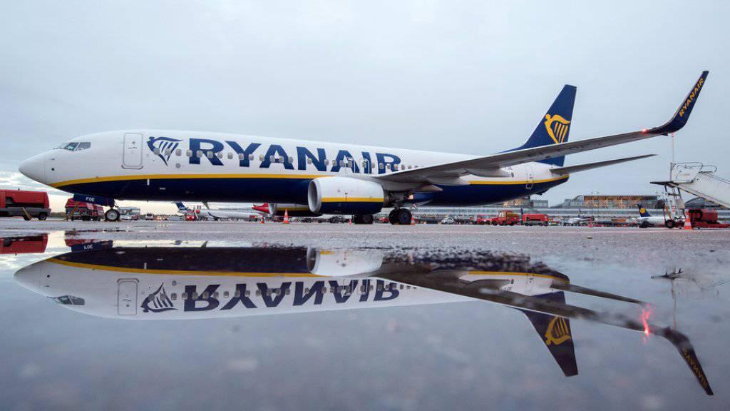 Rund 2000 Flüge streicht Ryanair bis Ende Oktober. Die Schweiz ist nicht betroffen.