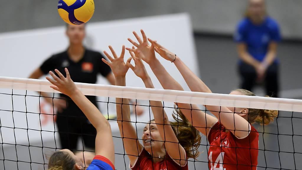 Trotz gutem Beginn verpassten die Schweizer Volleyballerinnen an der EM den angestrebten zweiten Sieg.