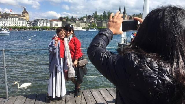 Chinesische Einzeltouristen fordern Luzern