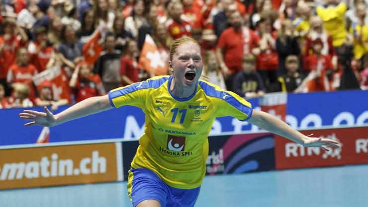 Johanna Hultgren schiesst Schweden zum Weltmeistertitel