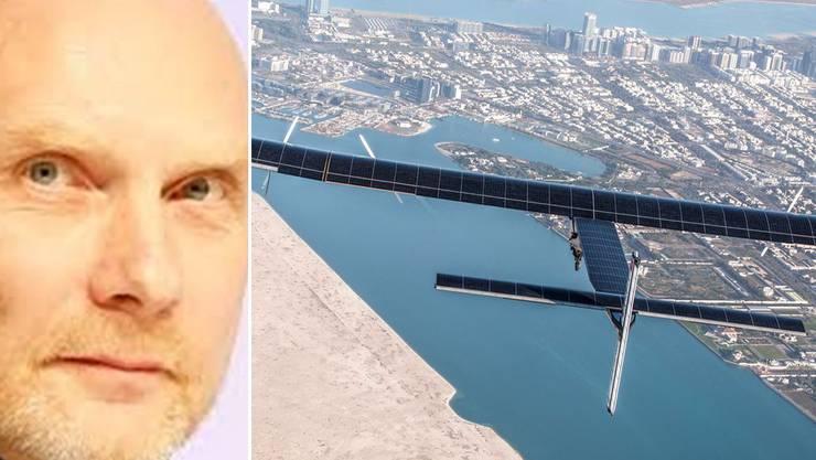 Stephan Rammler (l.): «Solarbetriebene Flugzeuge sind ein wichtiger Aspekt für eine nachhaltige Mobilität»