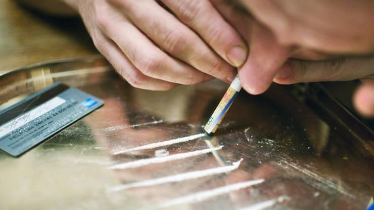Seine Delikte erklärt sich der Verurteilte mit seiner Kokainsucht. (Symbolbild)