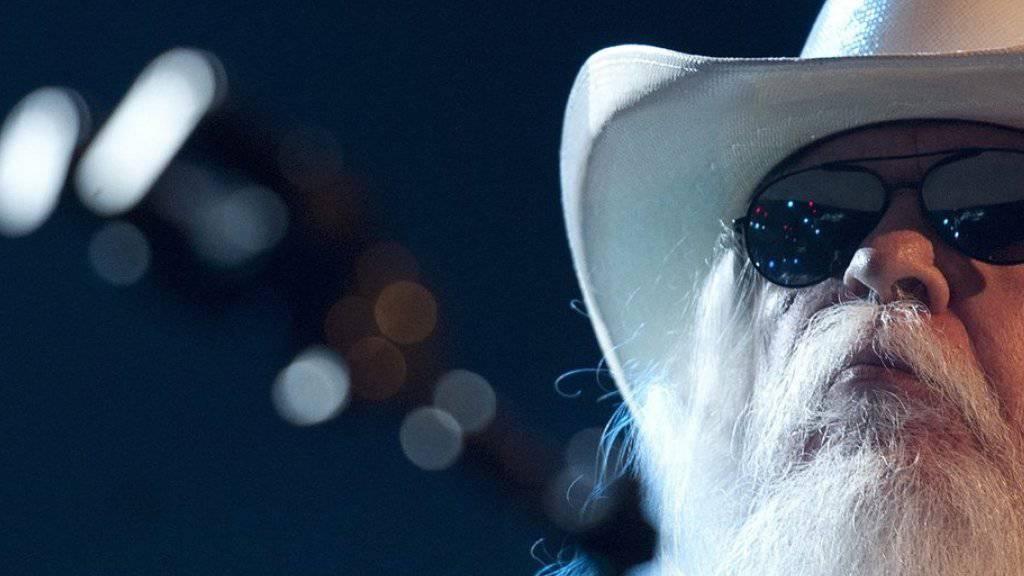 Leon Russell trat 2011 auch am Montreux Jazz Festival auf. Am 14. November ist er im Alter von 74 Jahren gestorben (Archiv)