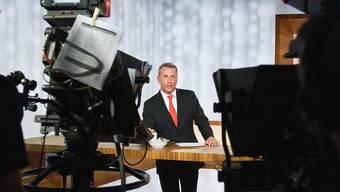 Moderator Reto Lipp während den Dreharbeiten zu «ECO»