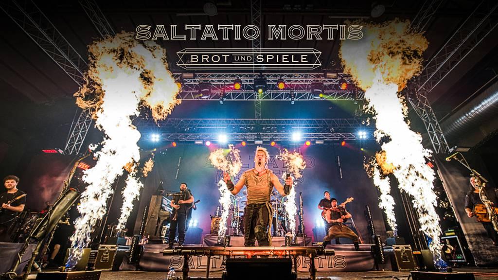 Mit vielen Flammen werden Saltatio Mortis nach Lustenau kommen.