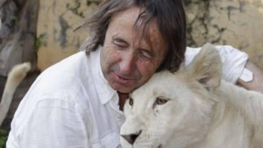 Spaniens erstes weisses Löwenjunges nach zwei Wochen Wehen geboren