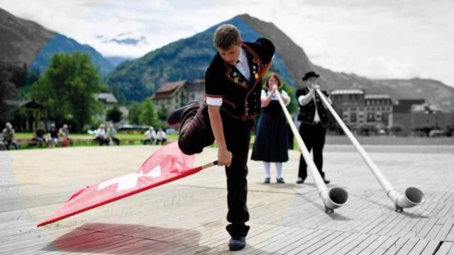 Bewährte Werte: Meinungsführer und Bevölkerung im Ausland schätzen das Image der Schweiz auch 2012 als sehr gut ein. Foto: Andri Pol