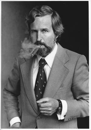 Heinrich Villiger auf einem Foto aus den 70er Jahren.